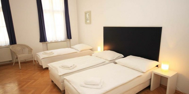 1-bedroom Apartment Praha New Town with kitchen for 6 persons